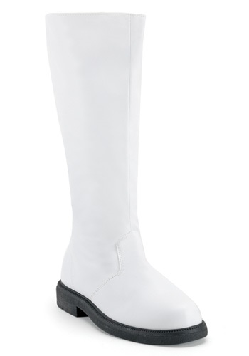 Adult White Boots